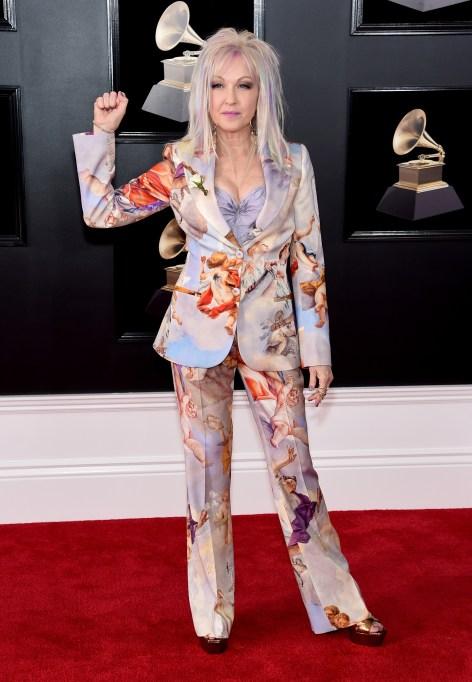 Grammy Awards Best Dressed: Cyndi Lauper