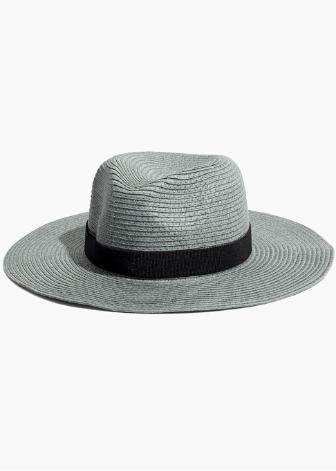 Best Sun Hats for Women: Madewell Packable Mesa Straw Hat | Summer Outfit Idea