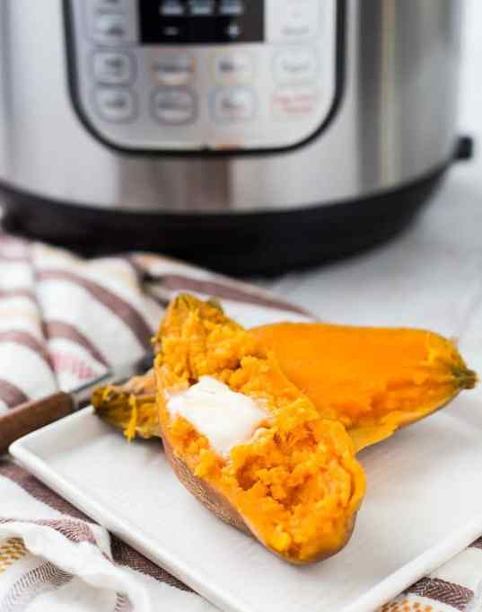 Instant Pot Thanksgiving: Sweet potatoes take forever to cook...but not in your Instant Pot!