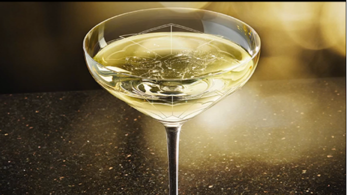New Champagne glass modeled after Kate