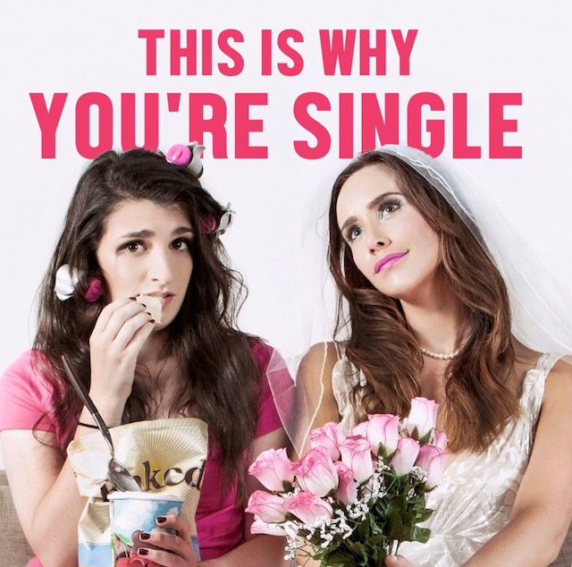 Cover art for 'This Is Why You're Single' podcast