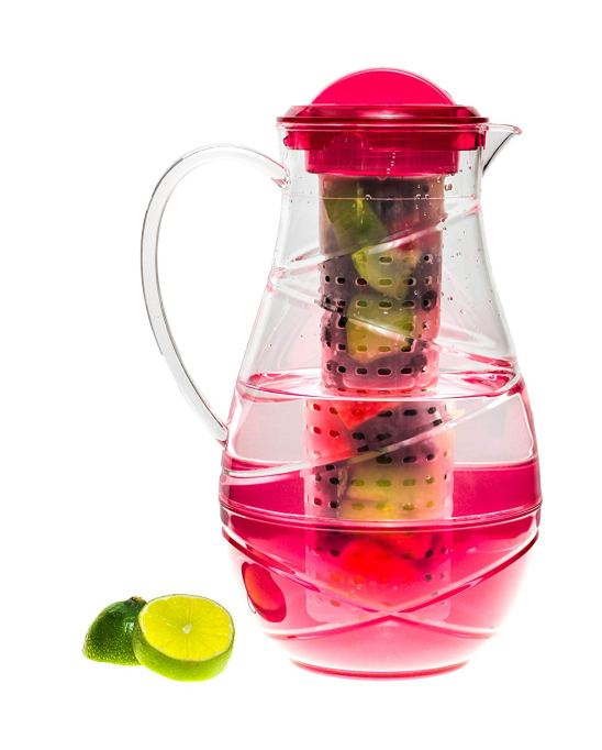 Superiore Livello Acrylic Fruit Infusion Pitcher, 2.2 Liters
