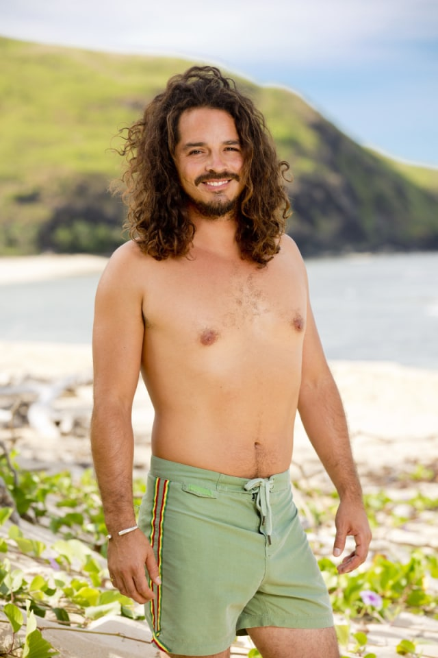 Ozzy Lusth cast photo for Survivor: Game Changers