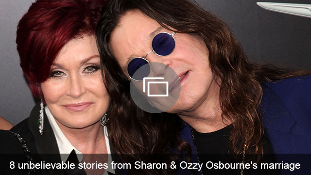 Ozzy & Sharon marriage slideshow