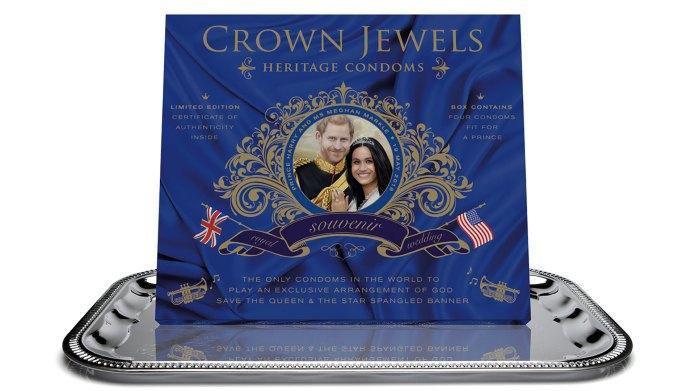 Royal Wedding Condoms Are Now a