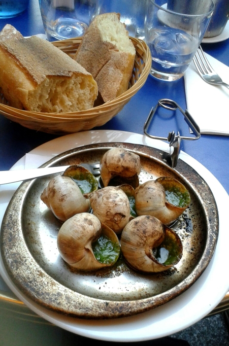 Escargot in Paris