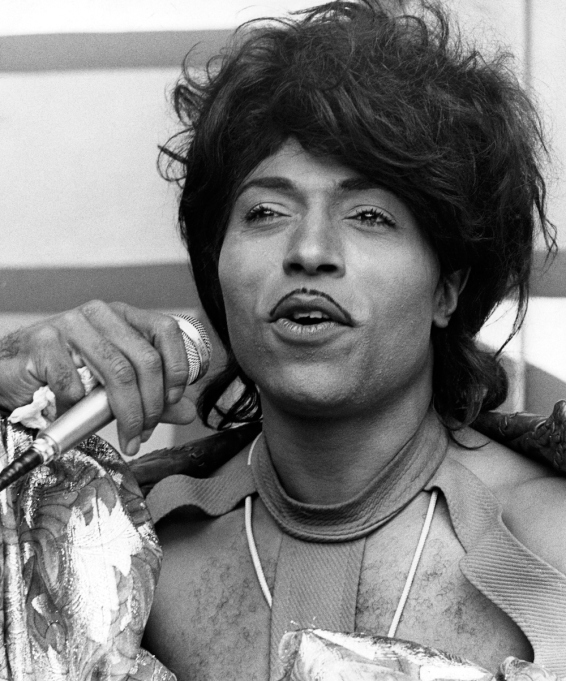 Little Richard performing