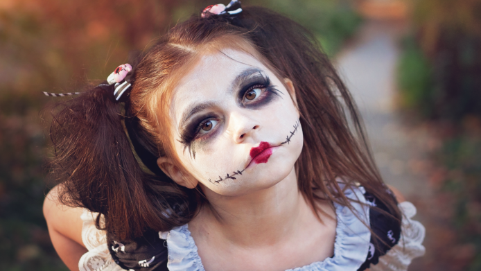 These 9 Scary Costumes For Kids Are Terrifying In A Good