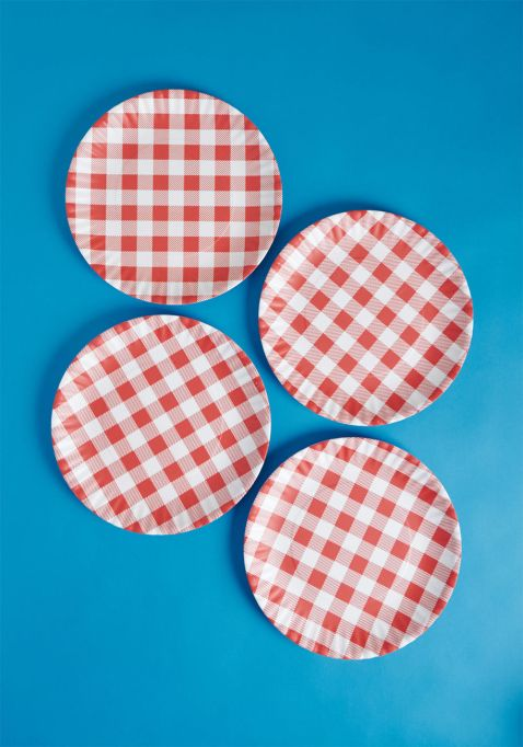 Backyard Bliss Melamine Plate Set