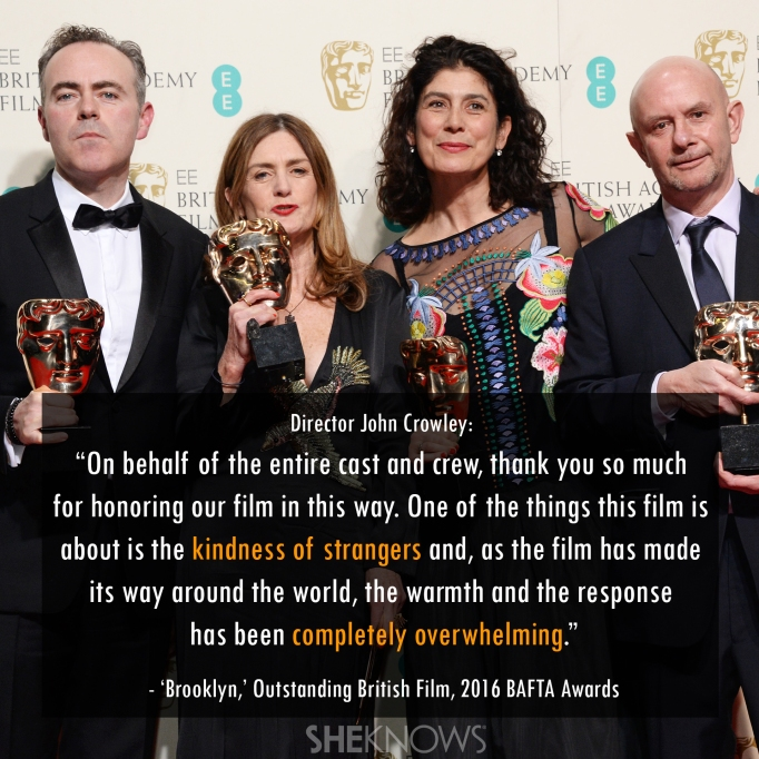 Brooklyn BAFTA 2016