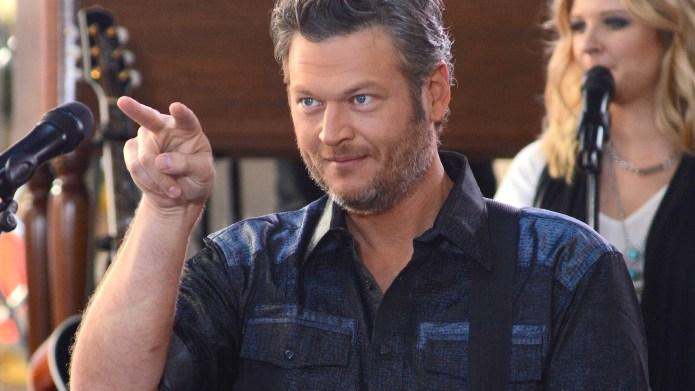"""Blake Shelton Performs On NBC's """"Today"""""""