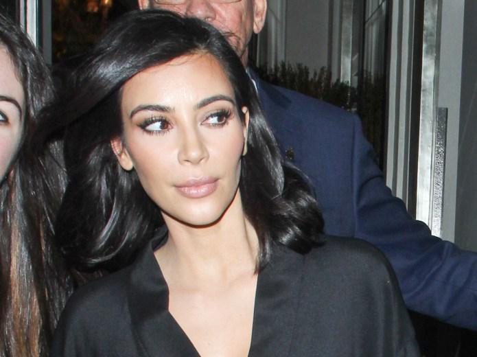 Kim Kardashian's new hair color will