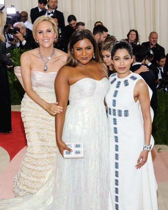 Tori Burch, Mindy Kaling, Freida Pinto Met Gala 2016