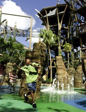 Busch Gardens in Tampa Bay, Florida