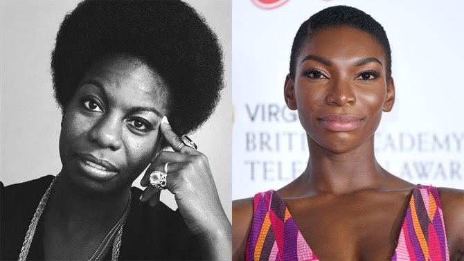 Nina Simone and Michaela Coel