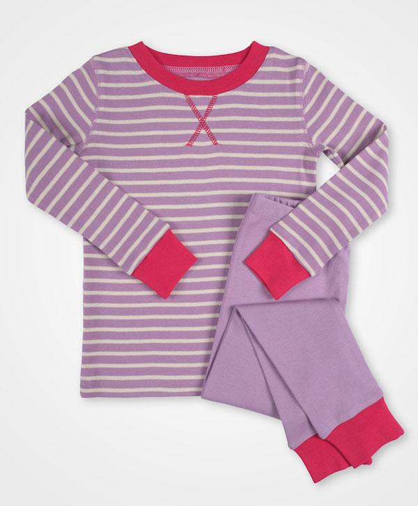 Pact Striped Pajamas