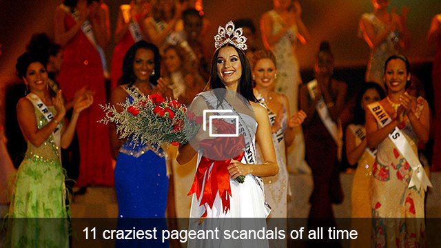Pageant scandals slideshow