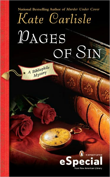 Pages of Sin: A Bibliophile Mystery