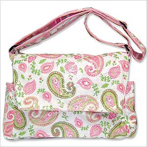 paisley diaper bag