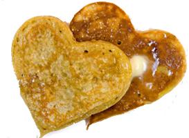 Pancake Heart