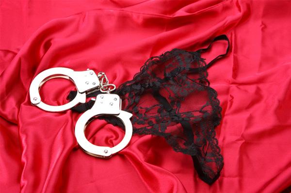 Panties and handcuffs