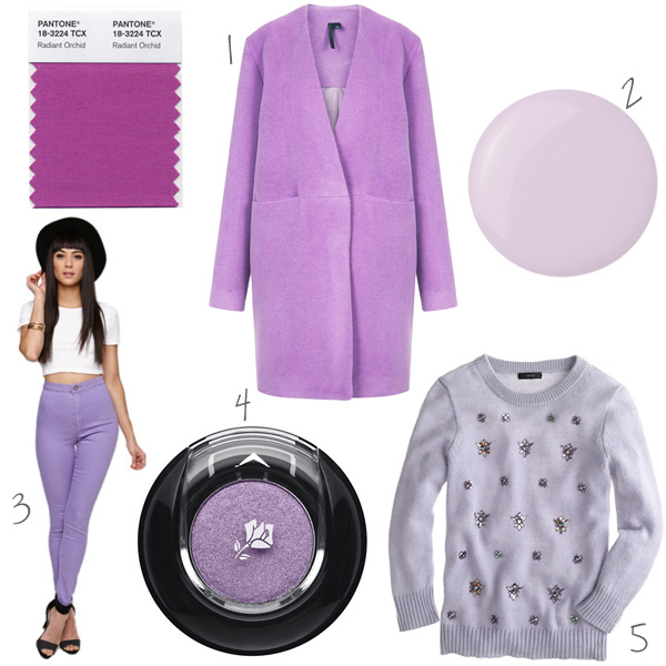 A few of our favorite Radiant Orchid style picks