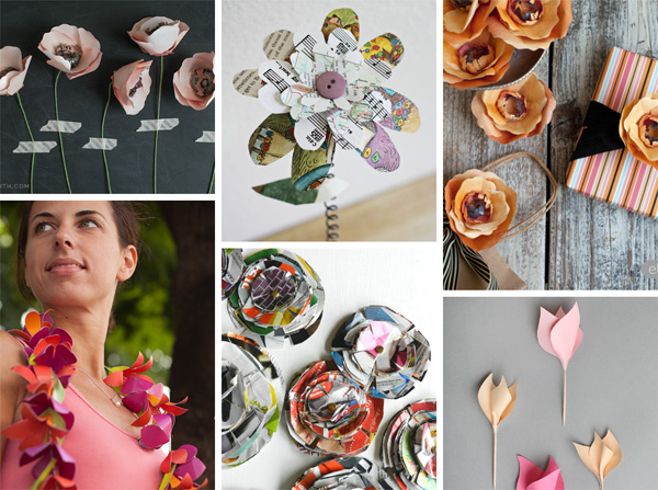 100 Different ways to make paper flowers