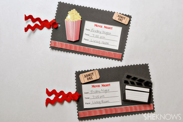 make your own movie night tickets sheknows