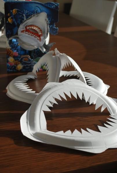 DIY shark teeth