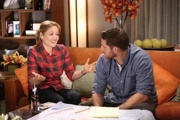 Parenthood's Julia apologizing to Joel
