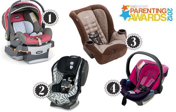 Parenting Awards car seats