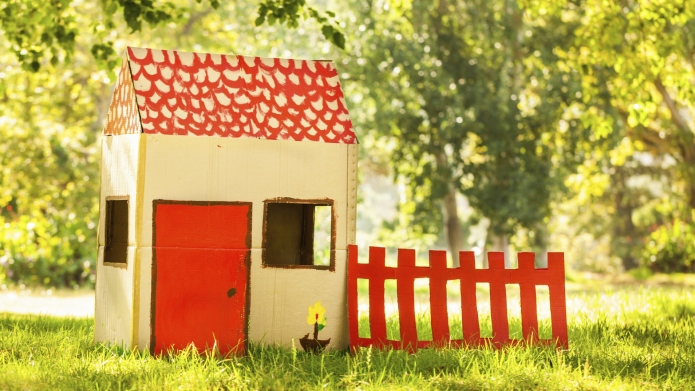 Playhouse in park