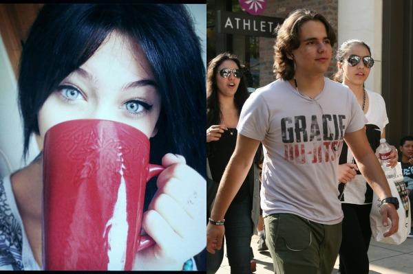 Paris and Prince Jackson - 4 years after Michael Jackson's death