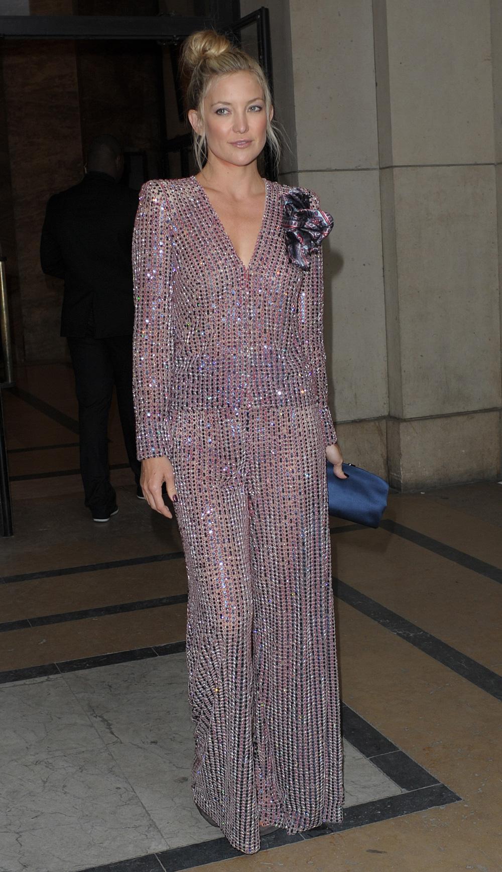 Kate Hudson at Paris Fashion Week