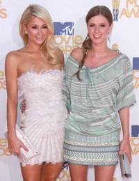 Paris Hilton Nicky Hilton MTV Movie Awards