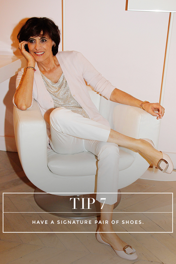 Secrets to Dressing Like a French Women: Tip 7: Have a signature pair of shoes