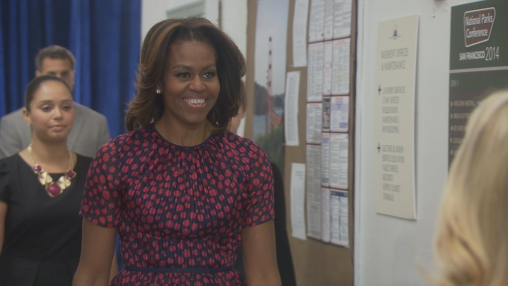First Lady Michelle Obama makes cameo in Parks and Recreation season finale