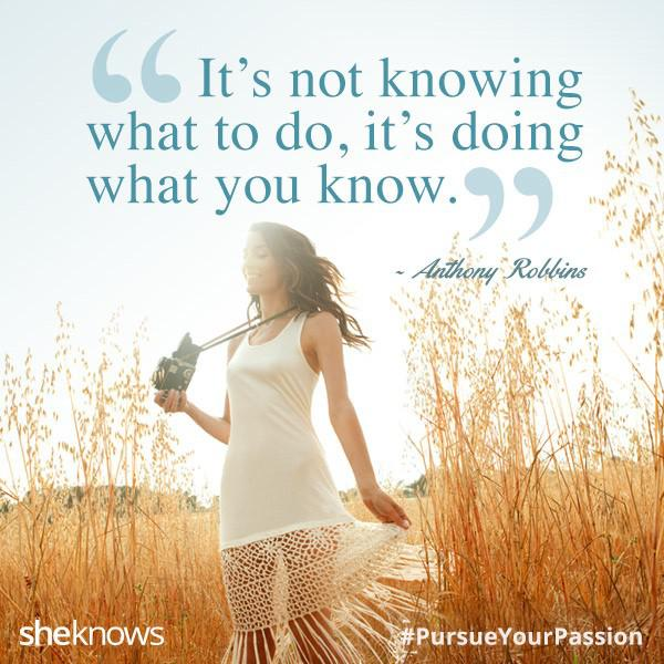Anthony Robbins quote about passion