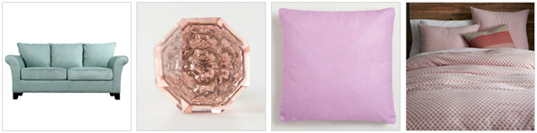 Pastel home decor products