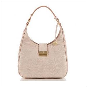 structured pink pastel purse