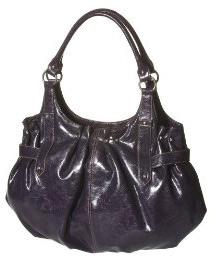 Patent PVC purse