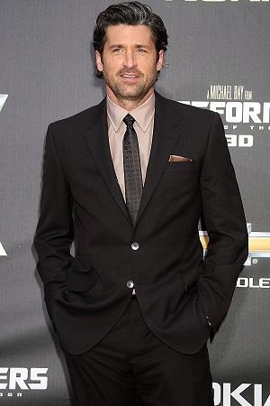 Patrick Dempsey at Transformers premiere