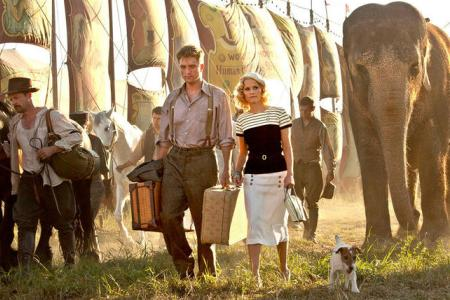 Water for Elephants stars Robert Pattinson, Reese Witherspoon and Rosie the elephant