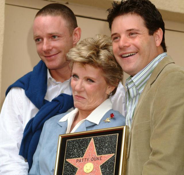 Patty Duke and sons