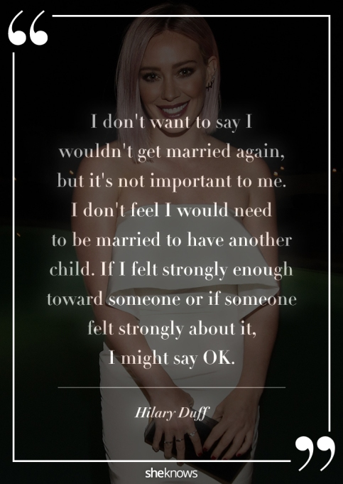 Hilary Duff quote