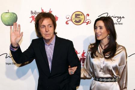 Paul McCartney Nancy Shevell