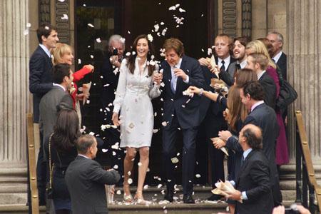 Paul McCartney and Nancy Shevell's low key wedding