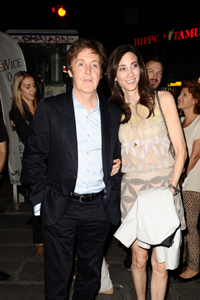 Paul McCartney and Nancy Shevellp