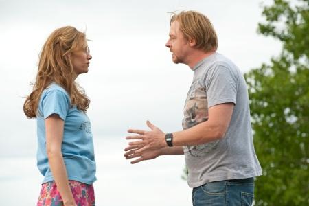Kristen Wiig and Simon Pegg star in Paul