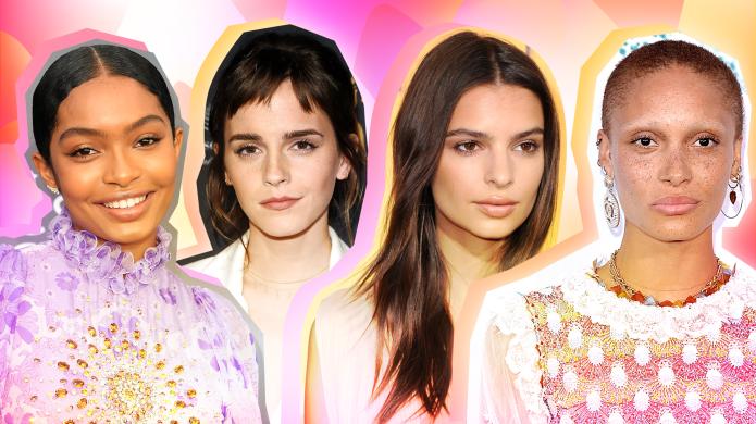 15 Celebrity No-Makeup Makeup Looks to